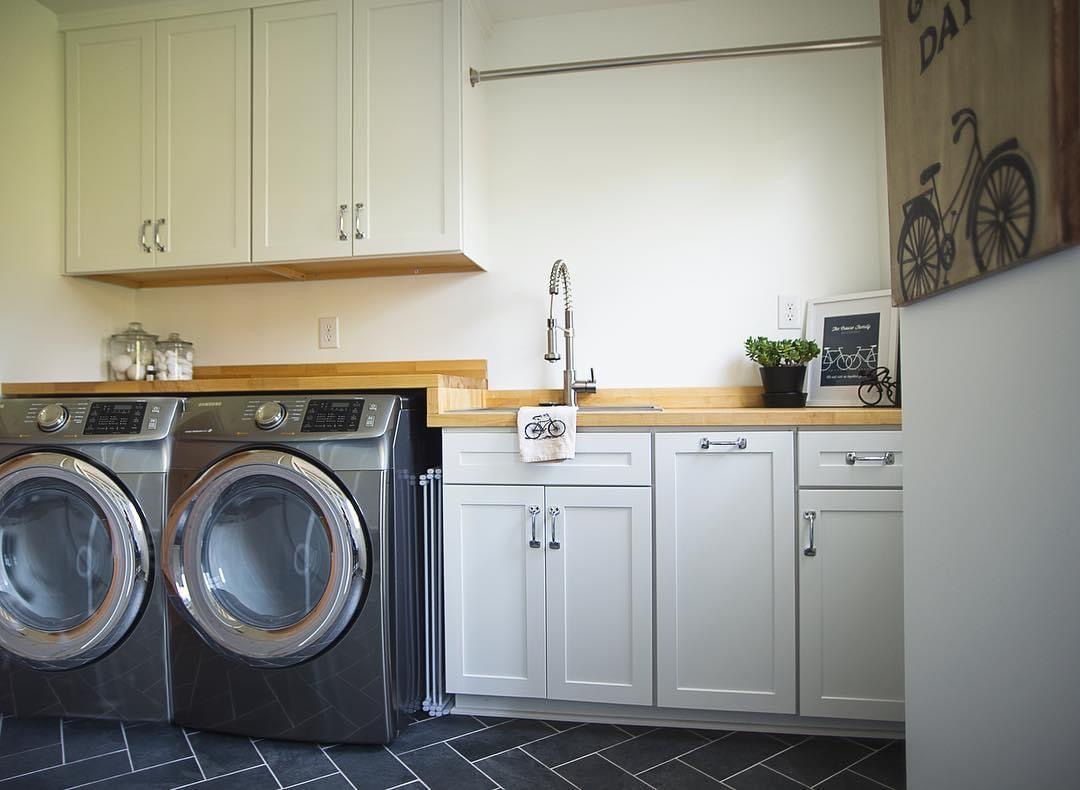 Sunny Coast Laundry Room design